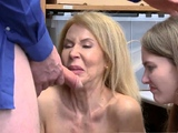 Old blonde huge tits While argument occurred, grandmother he